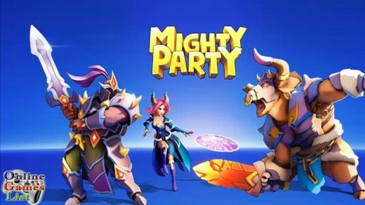 Mighty Party Heroes Clash for pc bluestacks