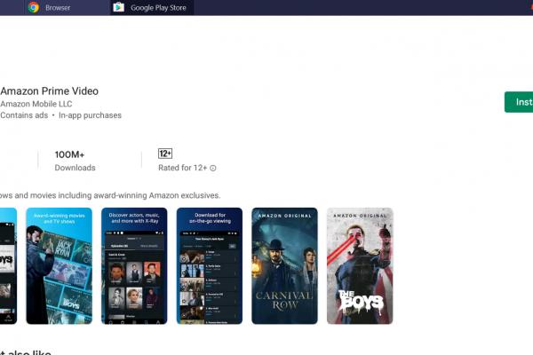 Prime Video App for PC