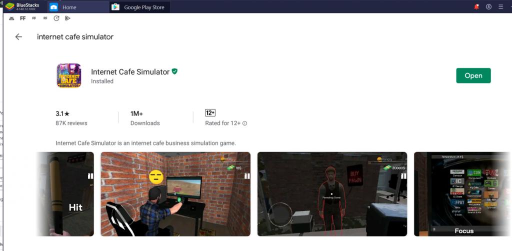 Internet Cafe Simulator for PC