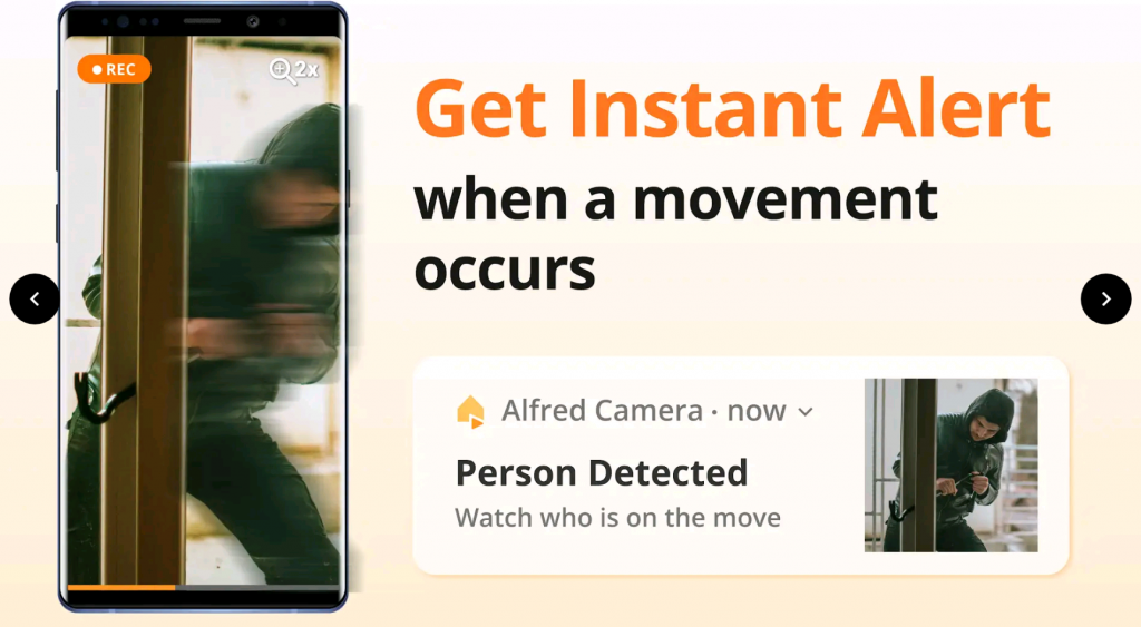 Alfred Camera Monitor for PC