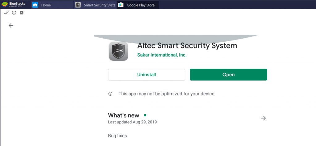 Altec Smart Security System for PC
